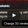 YouTubeの画面上に「HTML5 3D Unavailable……」が出た!