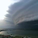 ハリケーン・アイリーン ノースカロライナに接近中